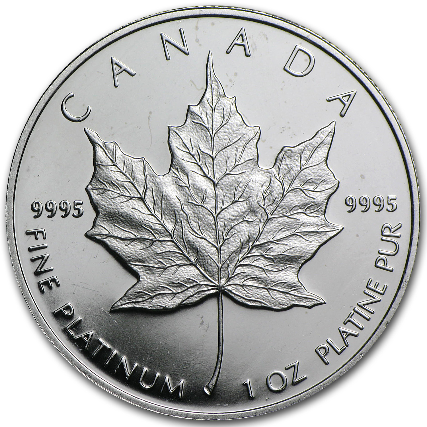 1989 Canada 1 oz Platinum Maple Leaf Proof