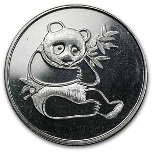 1 Oz Silver Round Panda Trade Unit 1 Oz Silver