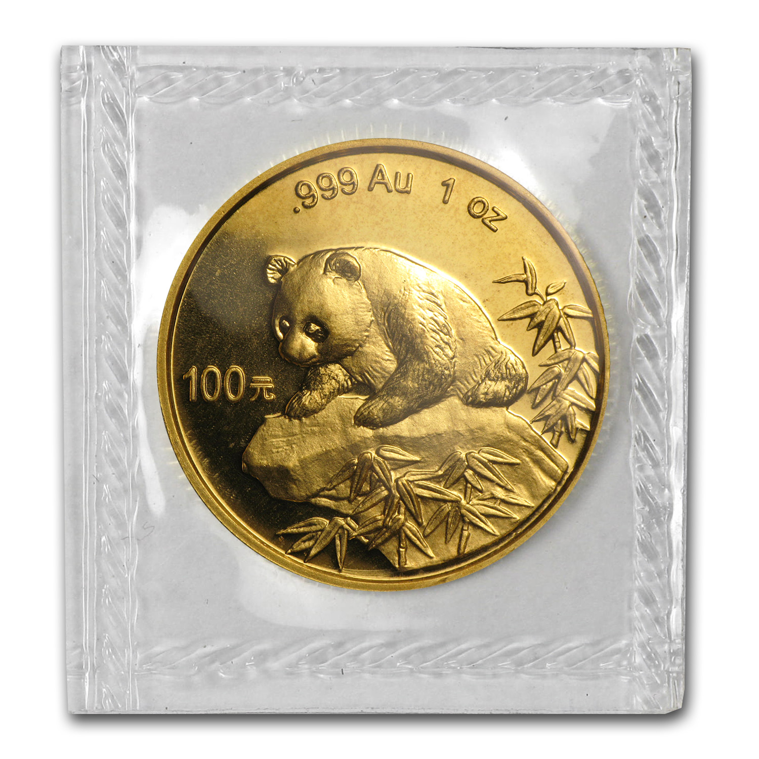 1999 1 oz Gold Chinese Panda - Small Date (Sealed)