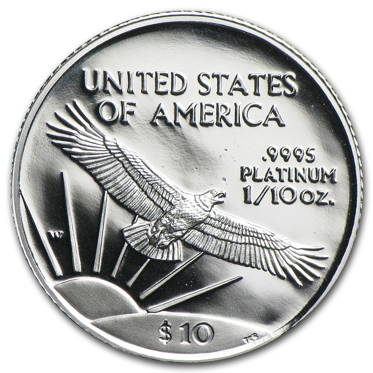 1/10 oz Proof Platinum American Eagle (Random Year, w/Box & COA)