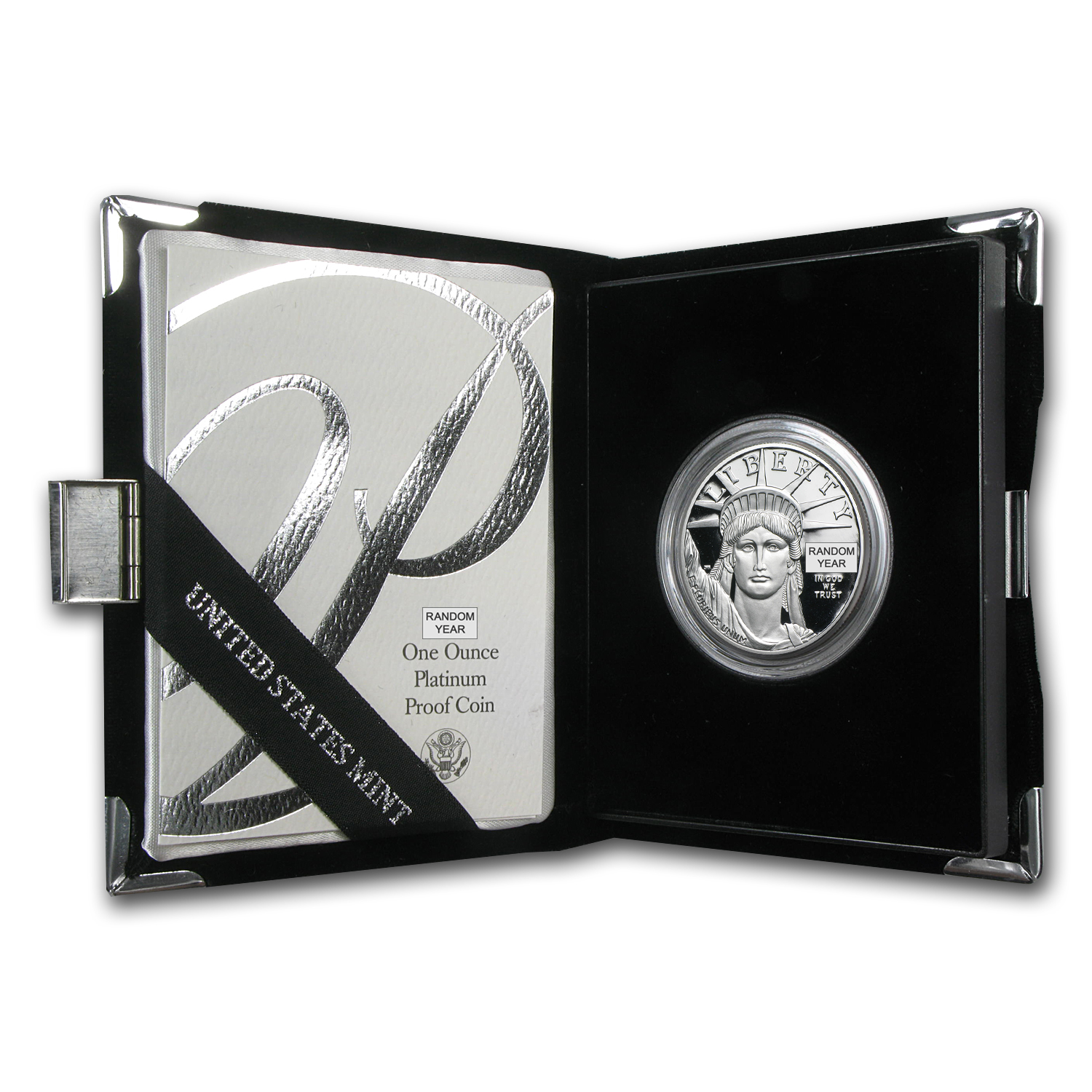 1 oz Proof Platinum American Eagle - Random Year (w/Box & Coa)