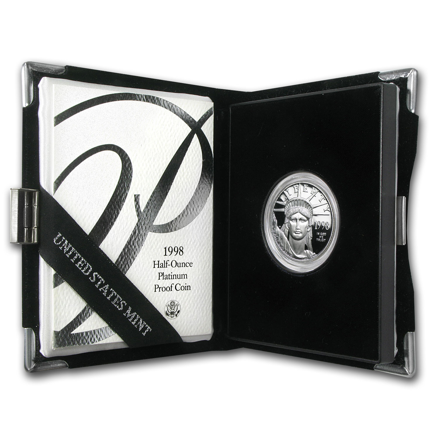 1/2 oz Proof Platinum American Eagle - Random Year (w/Box & CoA)