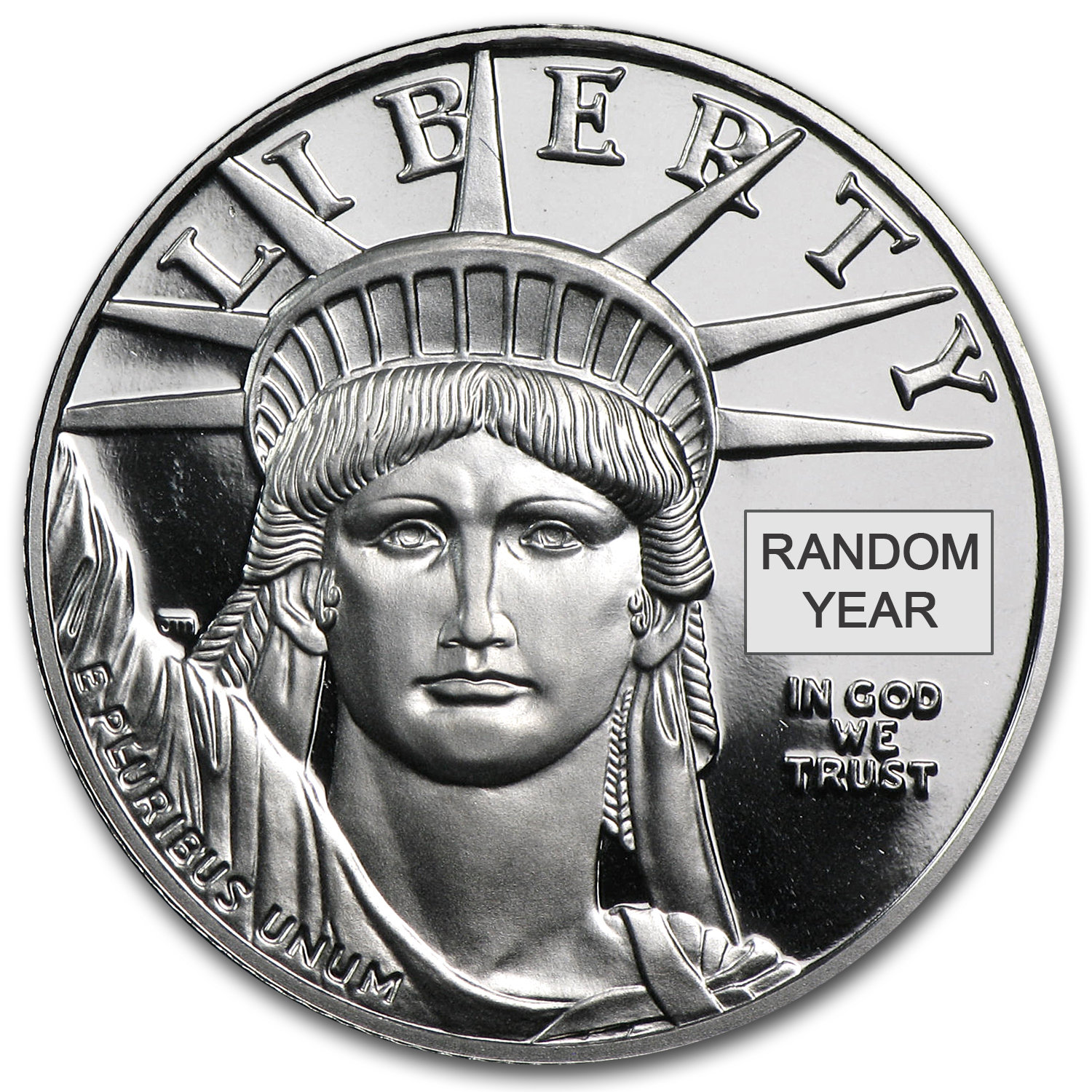 1/4 oz Proof Platinum American Eagle - Random Year (w/Box & CoA)