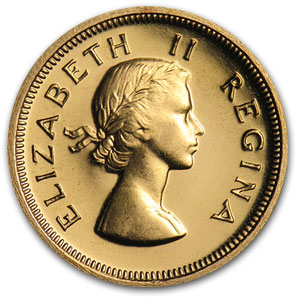 South African Gold 1 Pound (Proof)