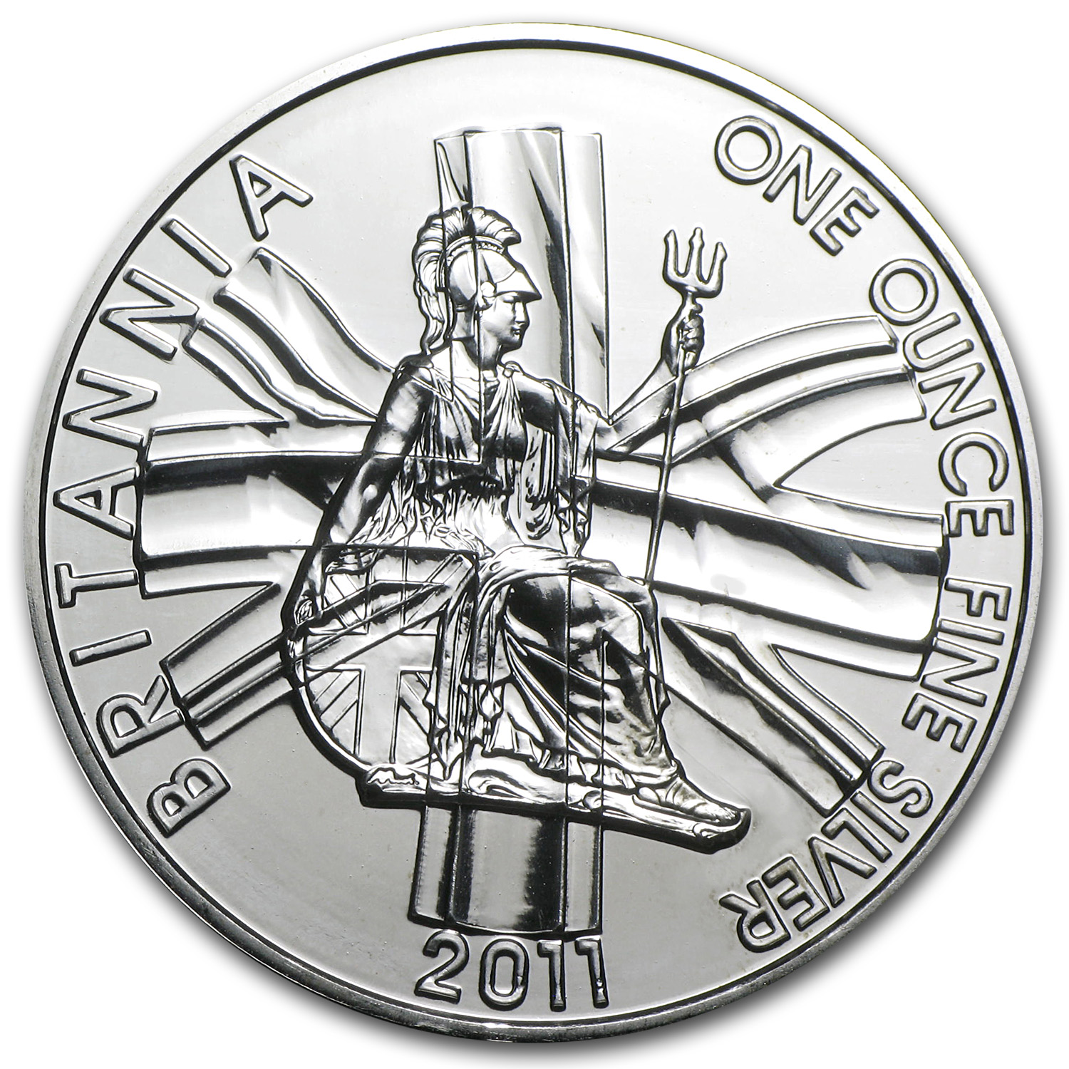2011 Great Britain 1 oz Silver Britannia BU