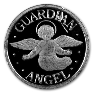 5 Gram Silver Round - Guardian Angel Coin