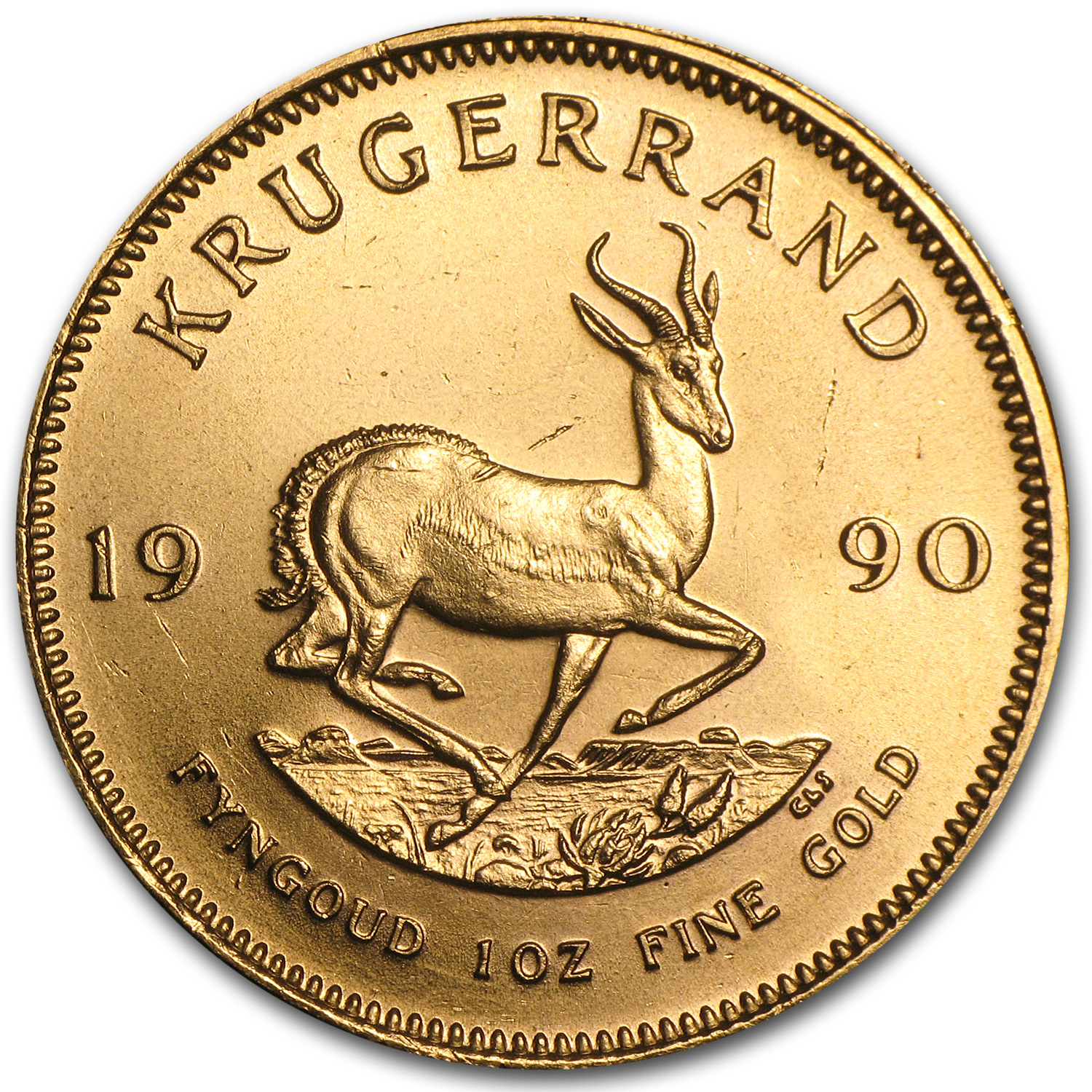 1990 South Africa 1 oz Gold Krugerrand