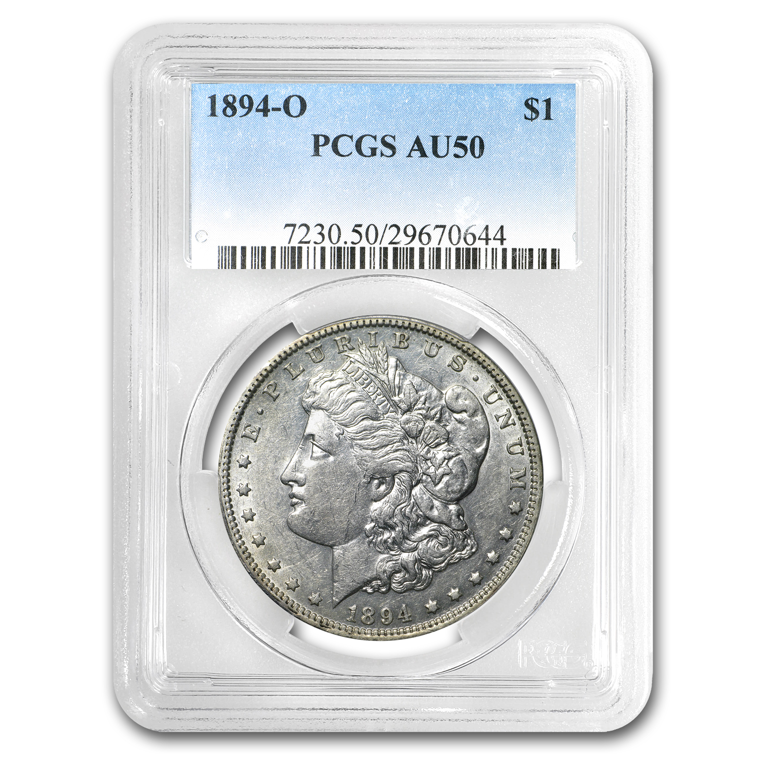 1894-O Morgan Dollar AU-50 PCGS