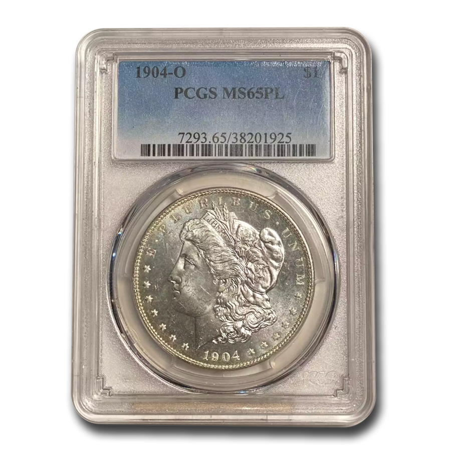 1904-O Morgan Dollar MS-65 PL Prooflike PCGS