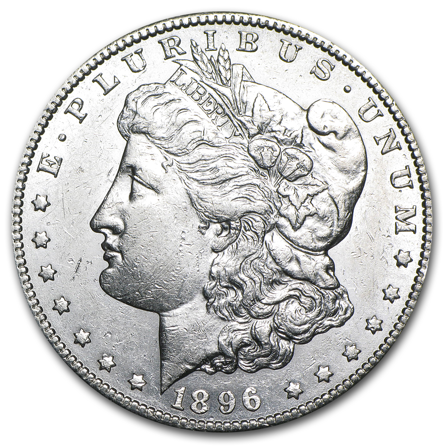 1896-S Morgan Dollar AU