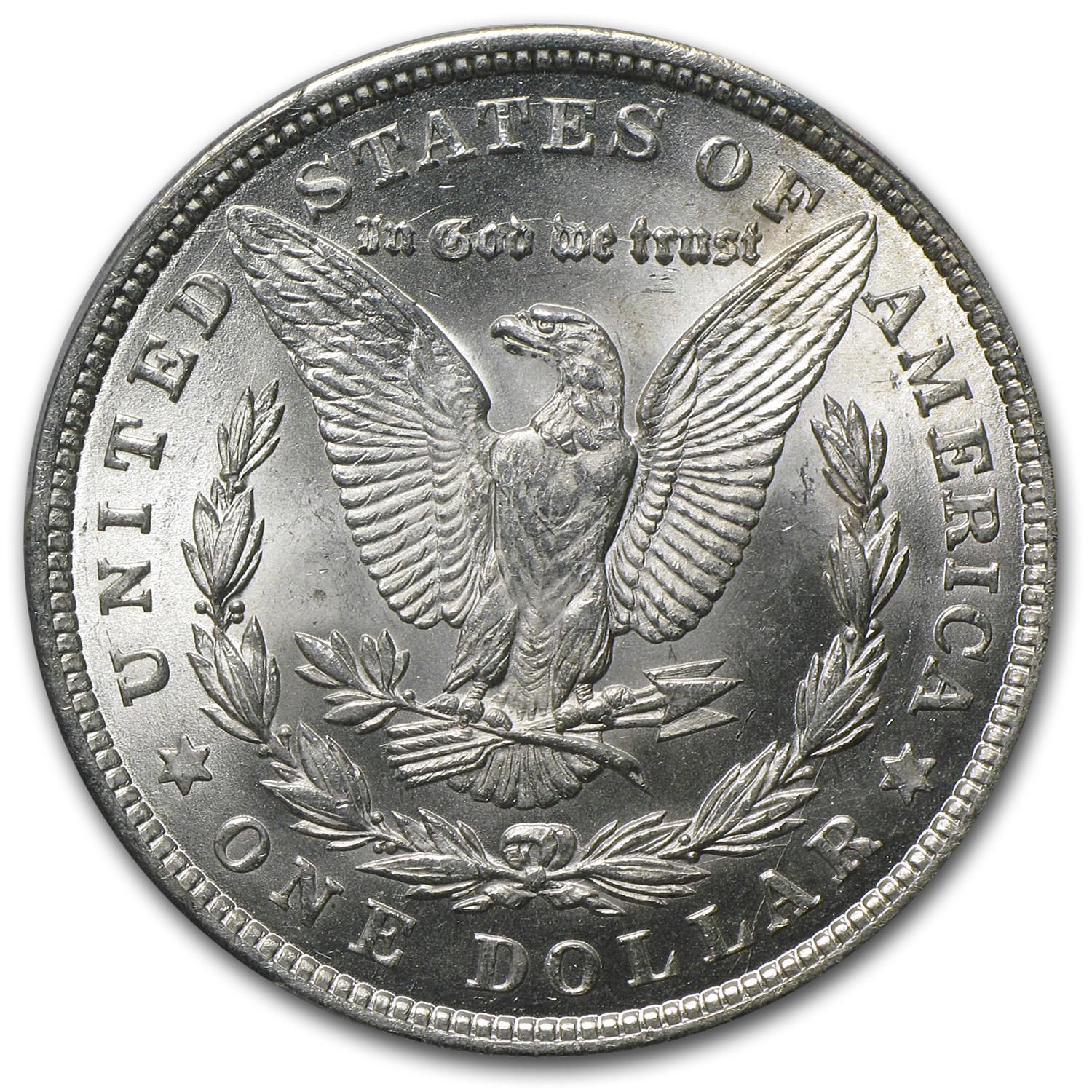 1921 Morgan Dollar MS-64+ PCGS