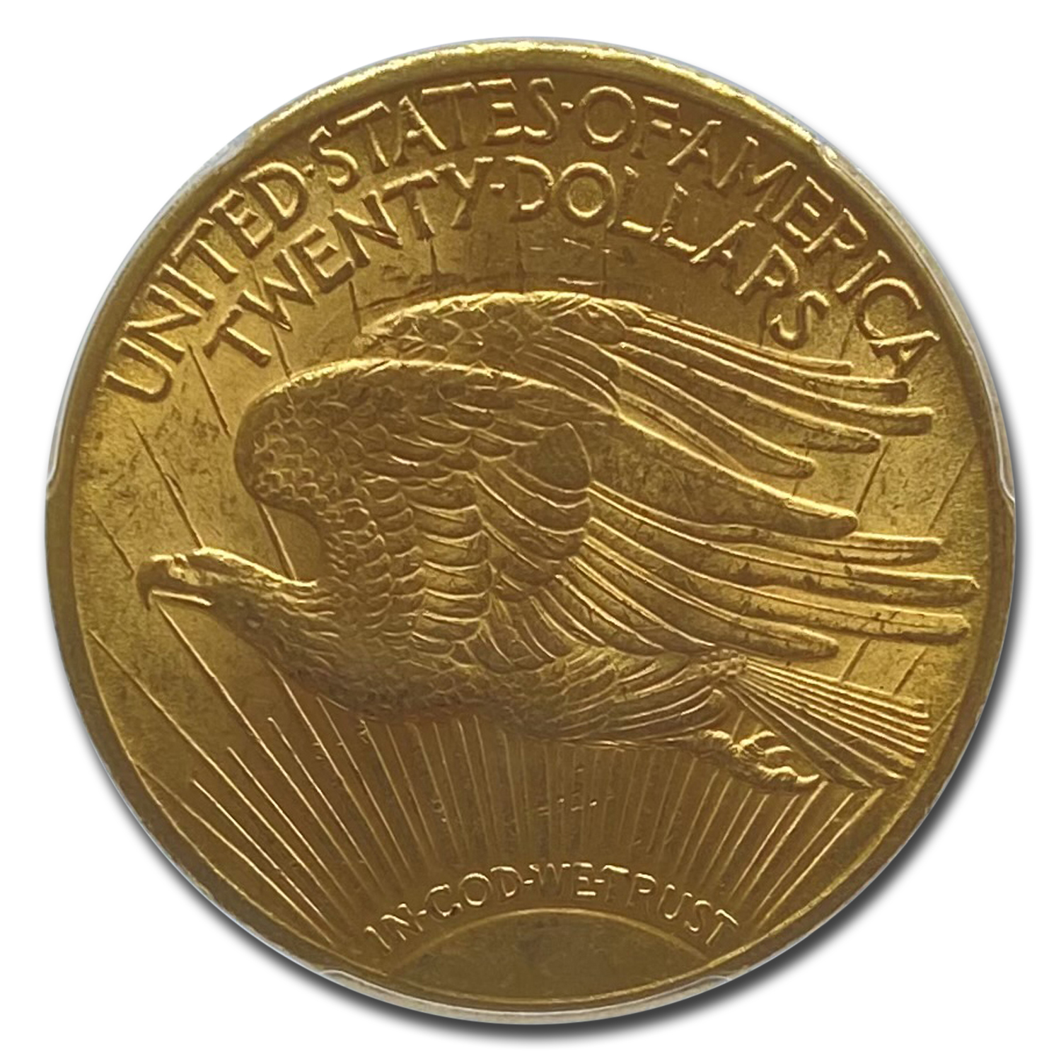 1913 $20 St. Gaudens Gold Double Eagle - MS-63 PCGS
