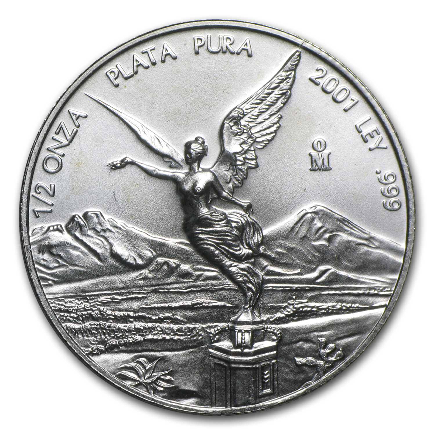 2001 1/2 oz Silver Mexican Libertad (Brilliant Uncirculated)