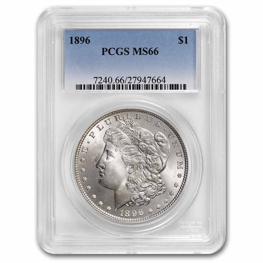 1896 Morgan Dollar MS-66 PCGS