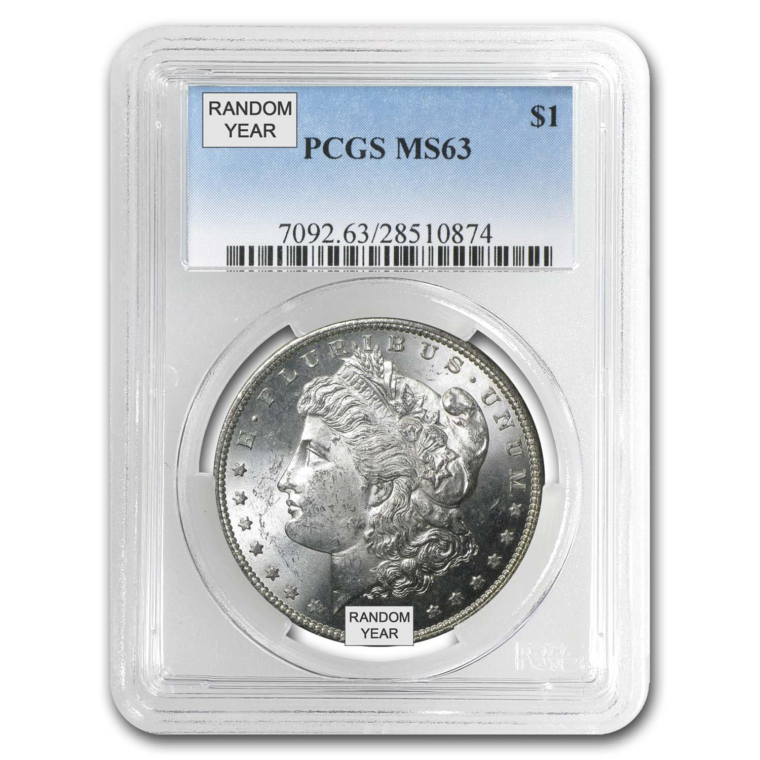 1878-1904 Morgan Dollars MS-63 PCGS (20 Different Dates/Mints)