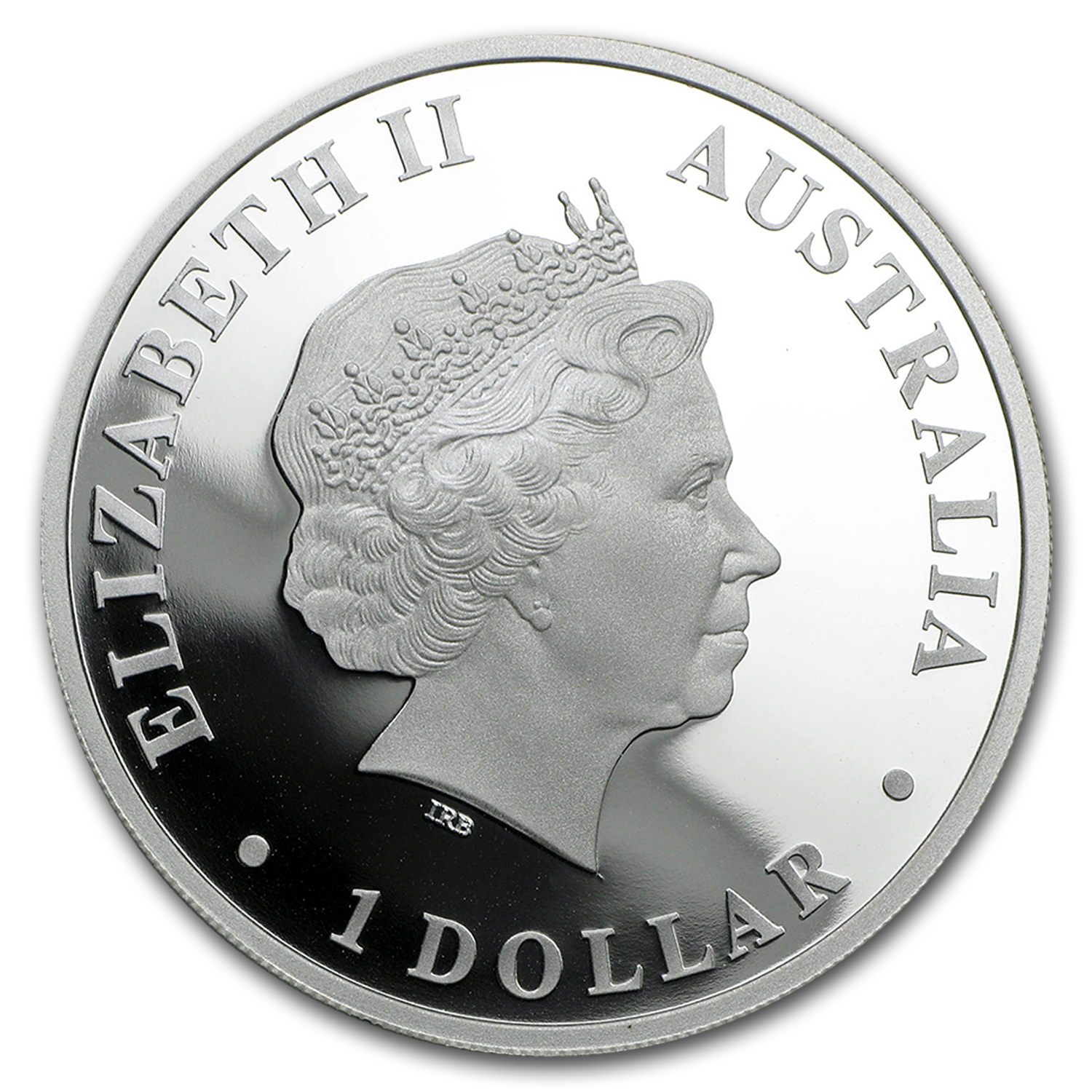 2009 1oz Proof Silver Kangaroo - Discover Australia Dreaming