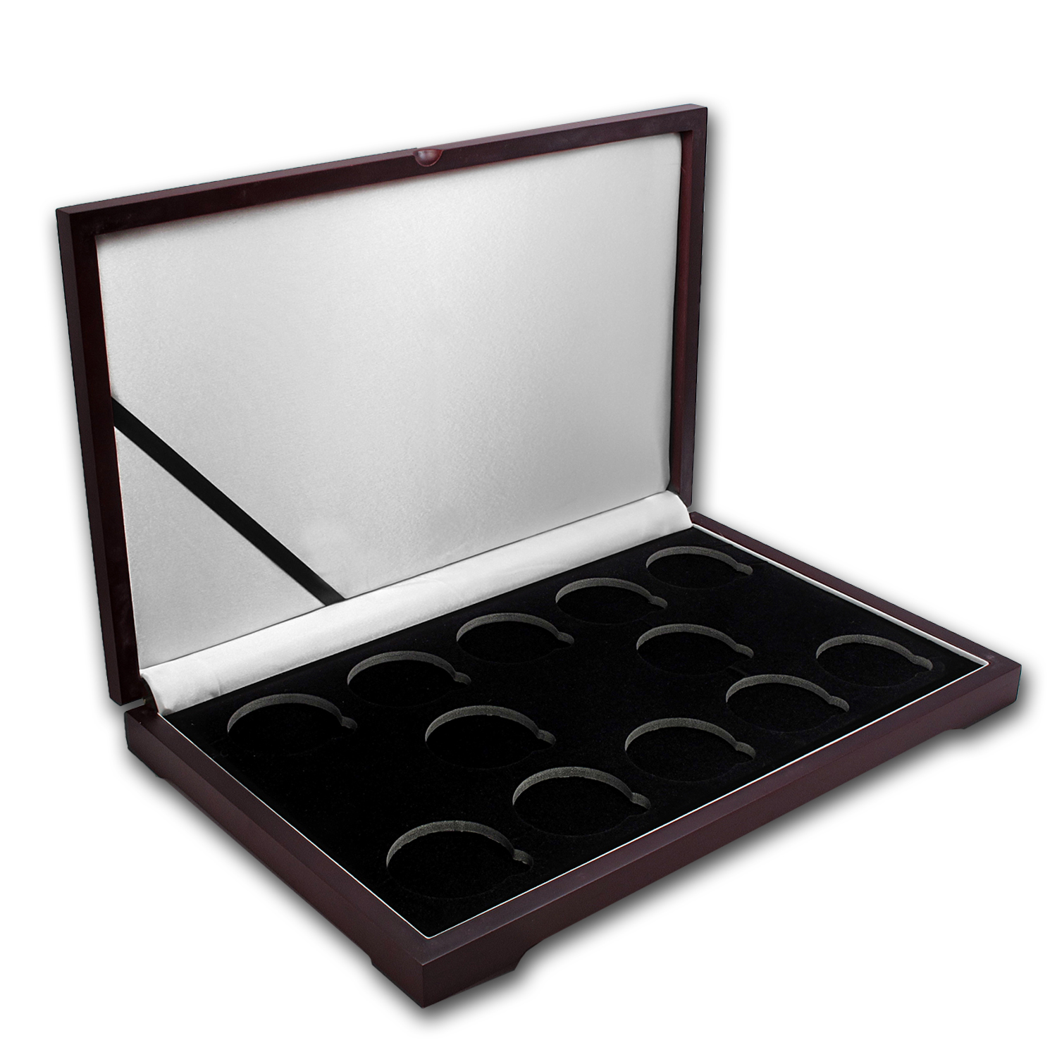 Lunar Series II (2oz Silver) 12 coin Wood Presentation Box