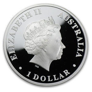 2009 Australia 1 oz Silver Echidna Proof