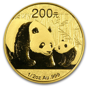 2011 China 1/2 oz Gold Panda MS-70 PCGS