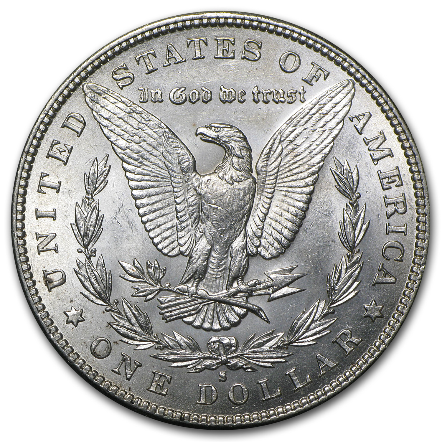 1888-S Morgan Dollar - Brilliant Uncirculated