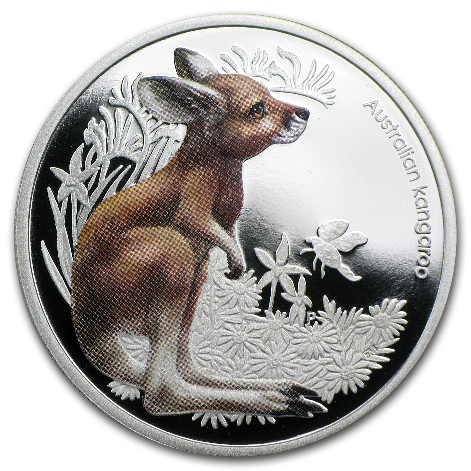 2010 Australia 1/2 oz Silver Bush Babies Kangaroo Proof