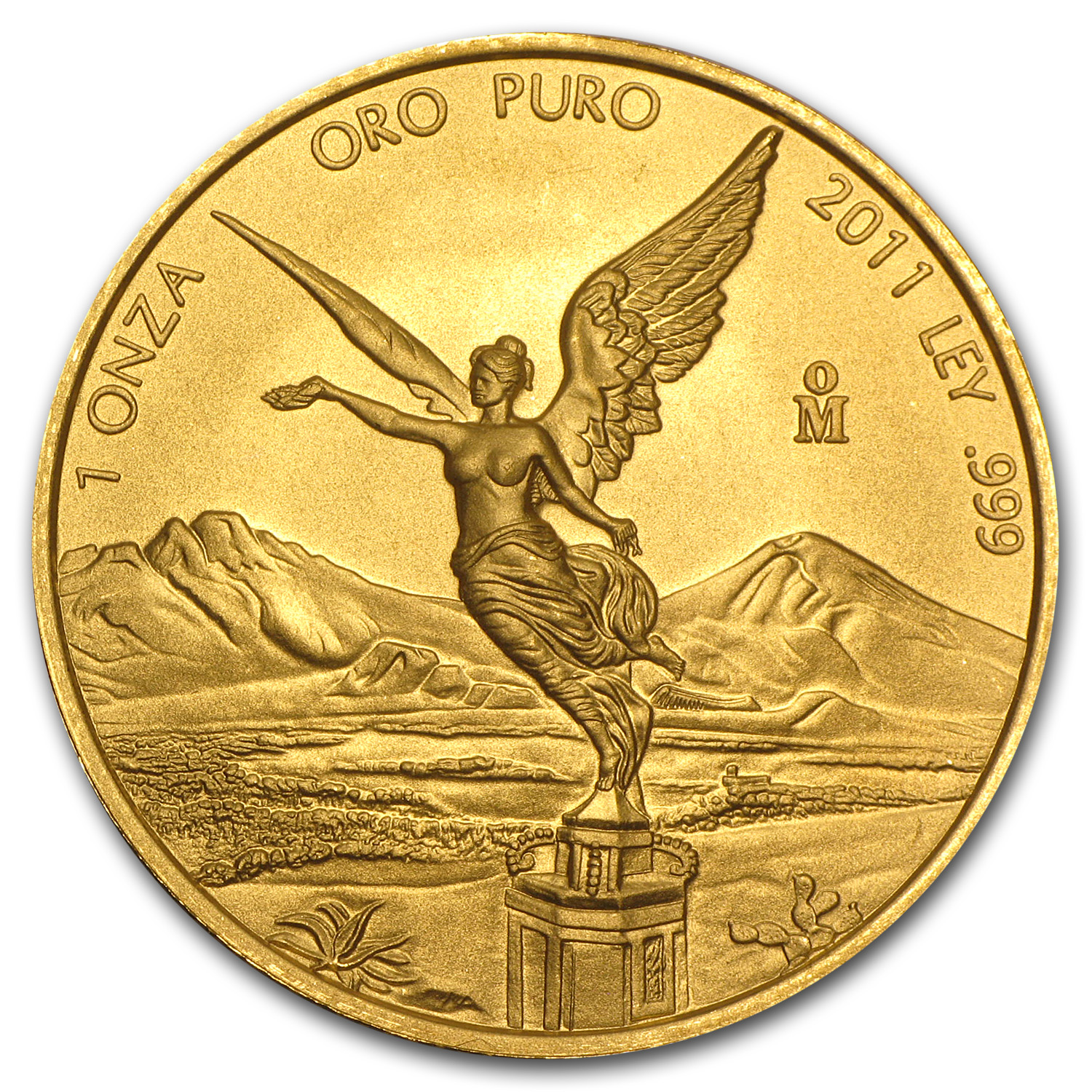 2011 Mexico 1 oz Gold Libertad BU