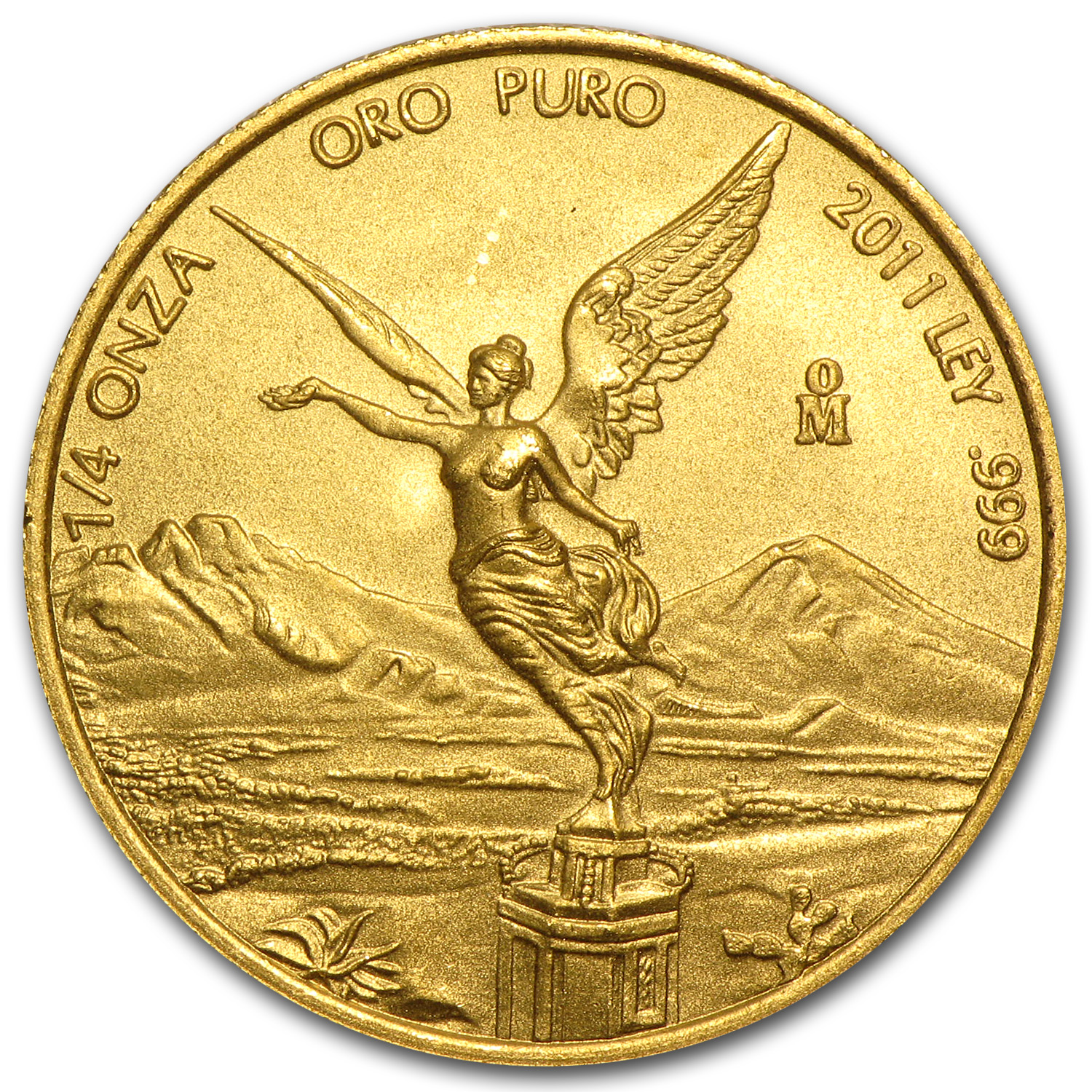 2011 Mexico 1/4 oz Gold Libertad BU