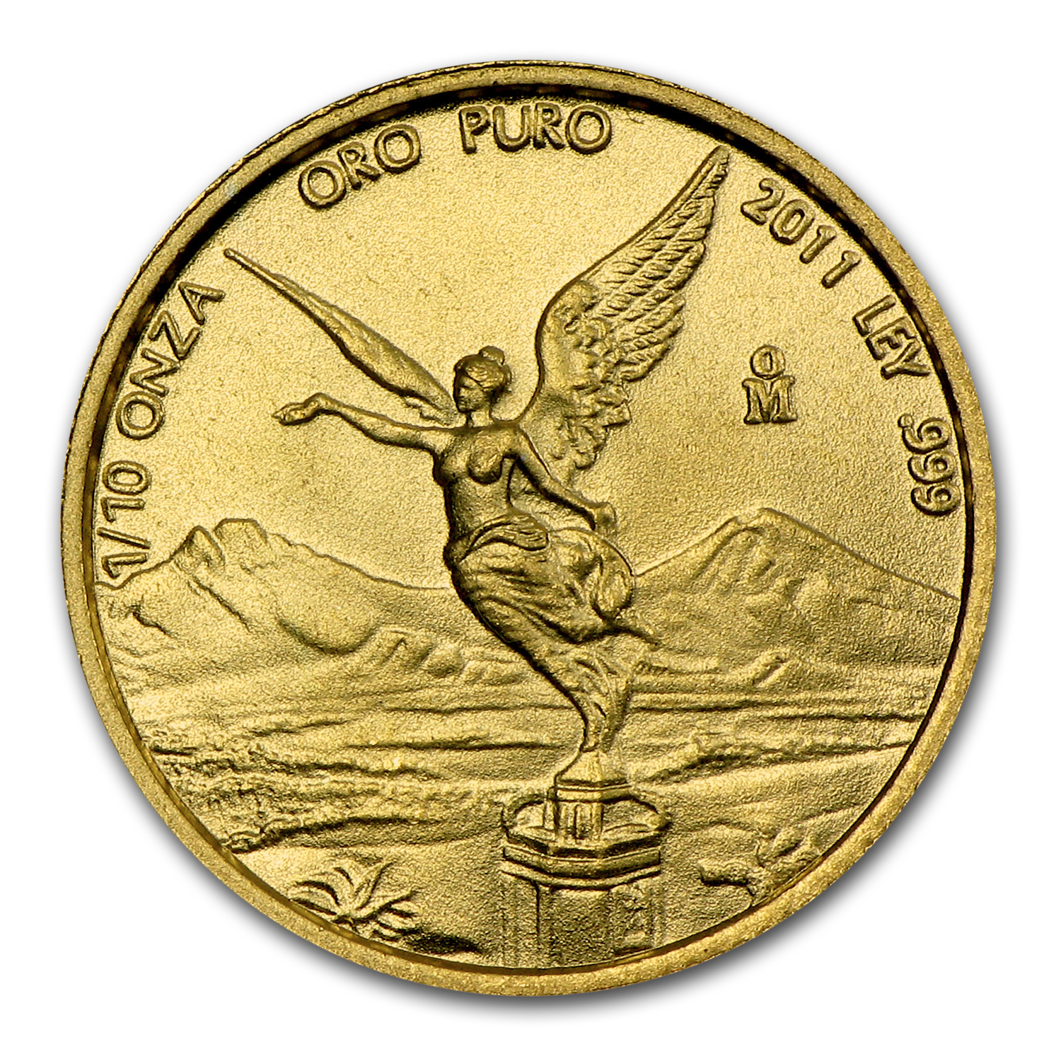 2011 Mexico 1/10 oz Gold Libertad BU