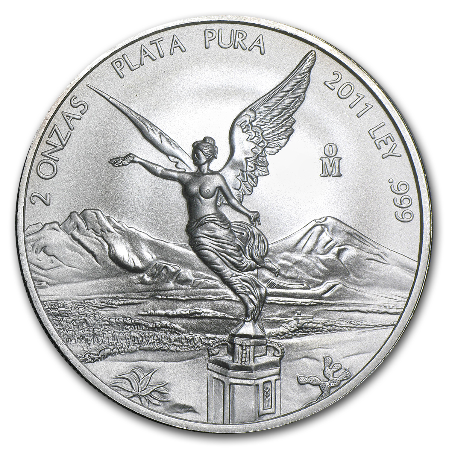 2011 2 oz Silver Mexican Libertad (Brilliant Uncirculated)
