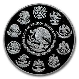 2011 Mexico 2 oz Silver Libertad Proof (In Capsule)