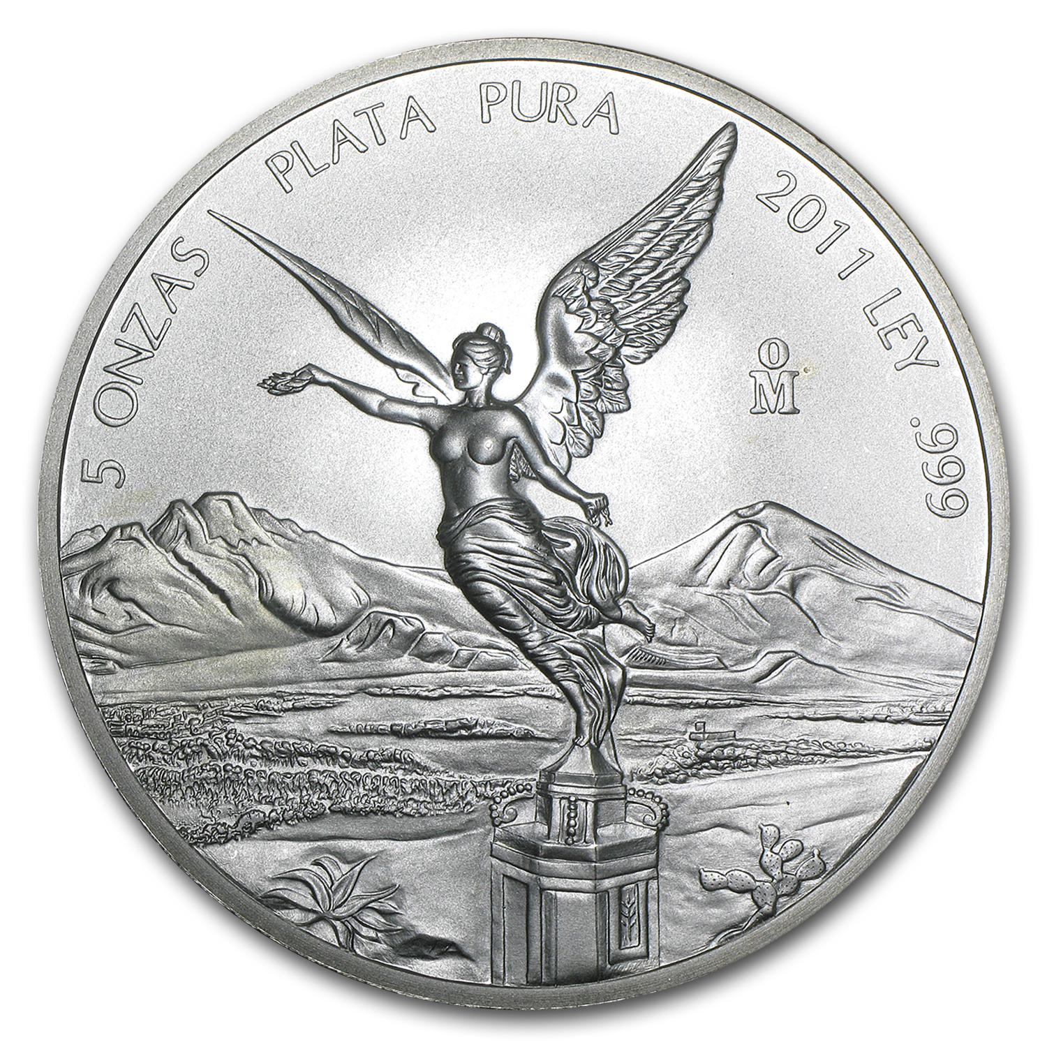 2011 5 oz Silver Mexican Libertad (Brilliant Uncirculated)