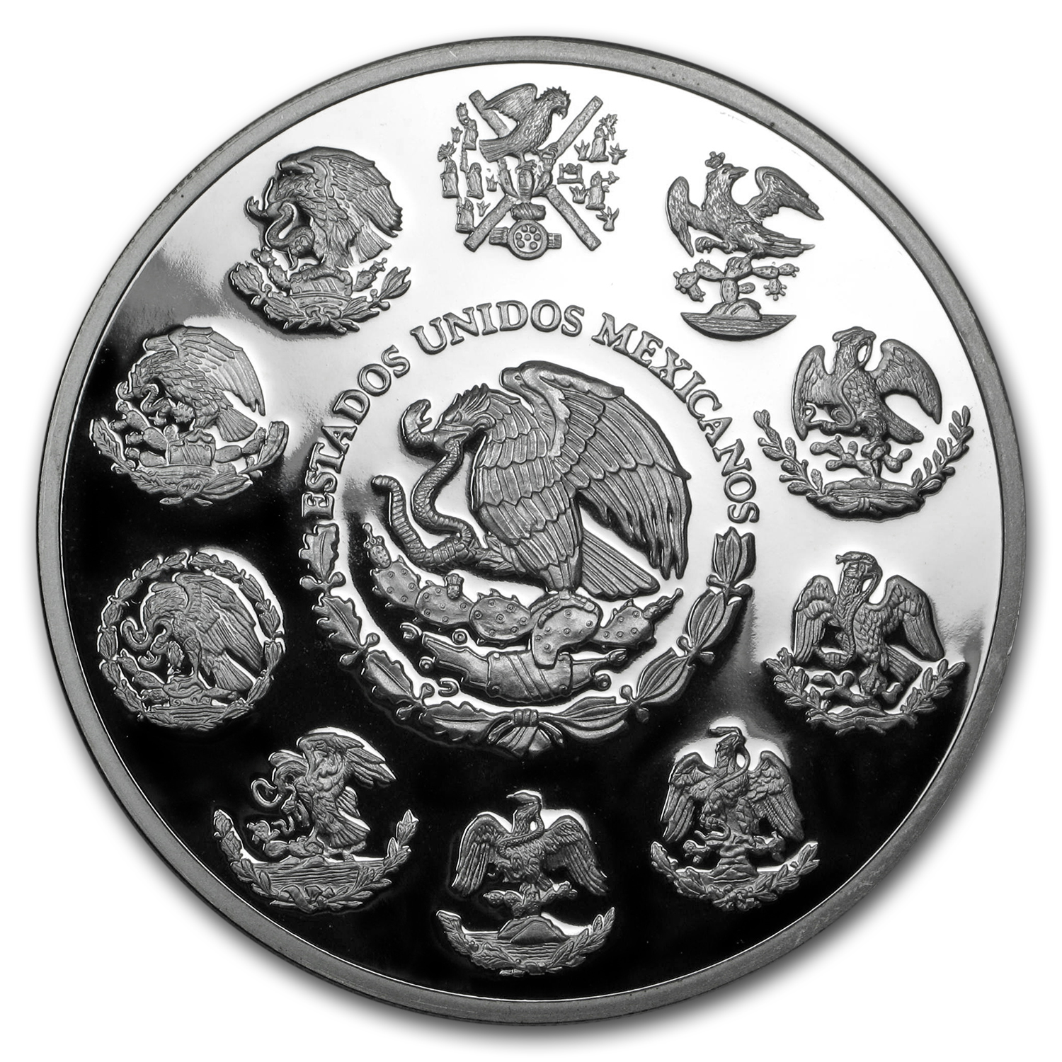 2011 Mexican 5 oz Silver Libertad Proof (In Capsule)