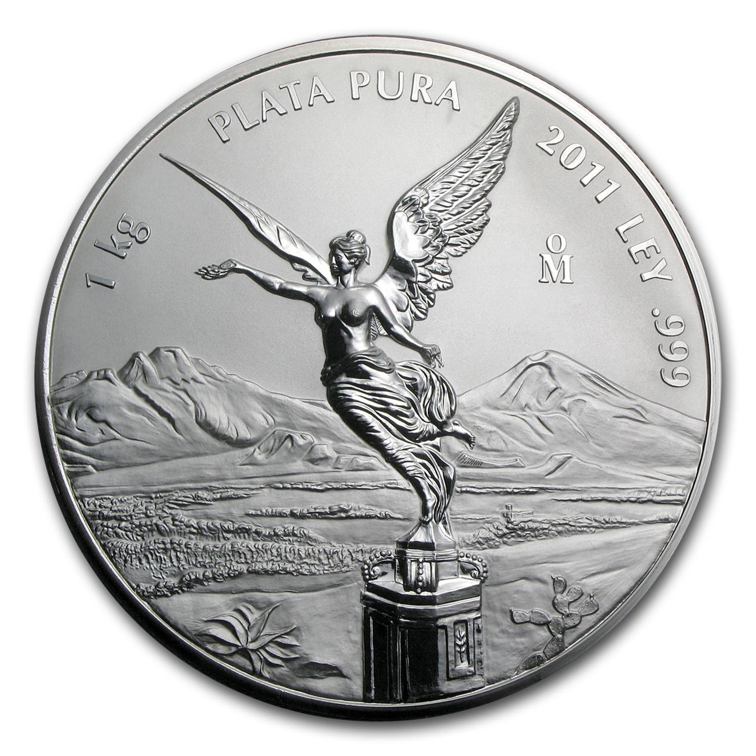 2011 1 kilo Silver Libertad Proof Like (w/Box & COA)