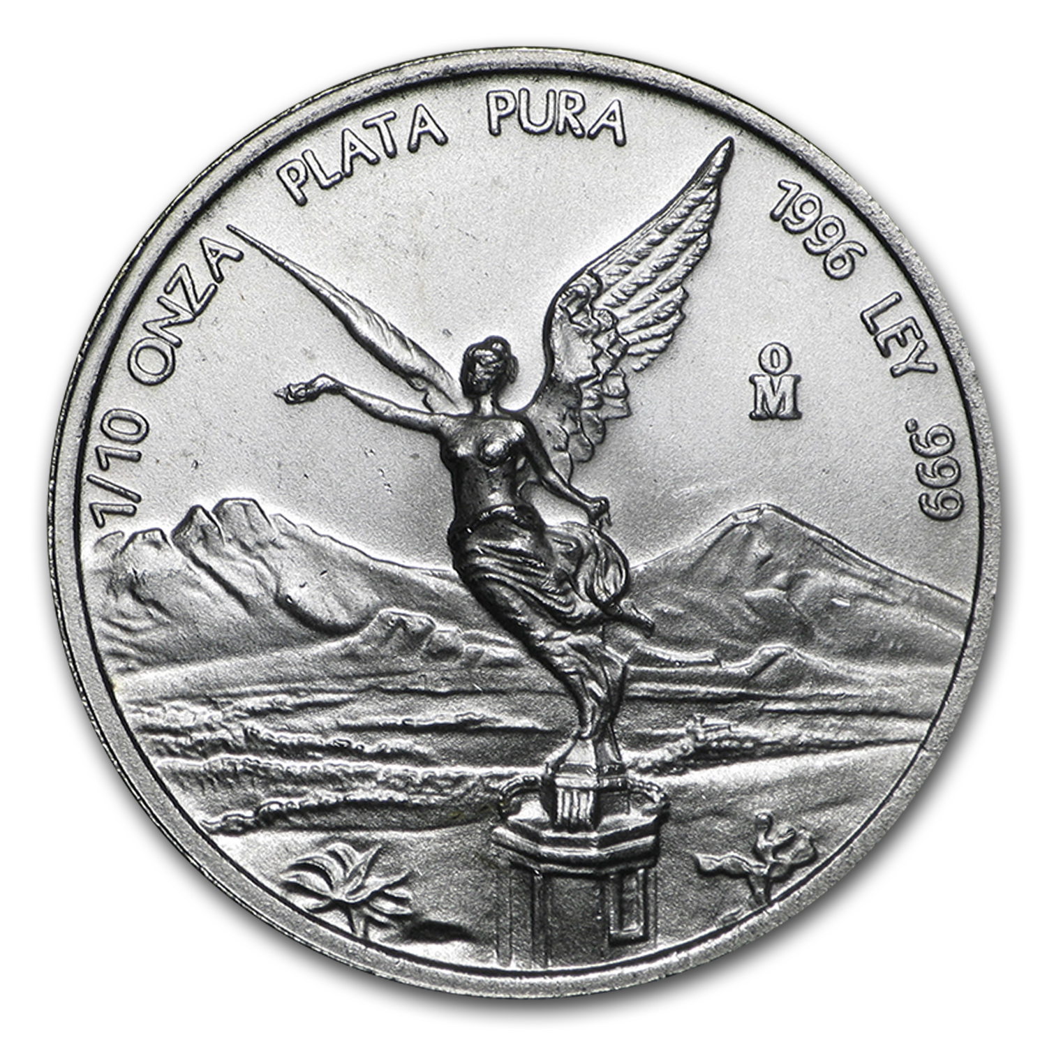 1996 1/10 oz Silver Mexican Libertad (Brilliant Uncirculated)