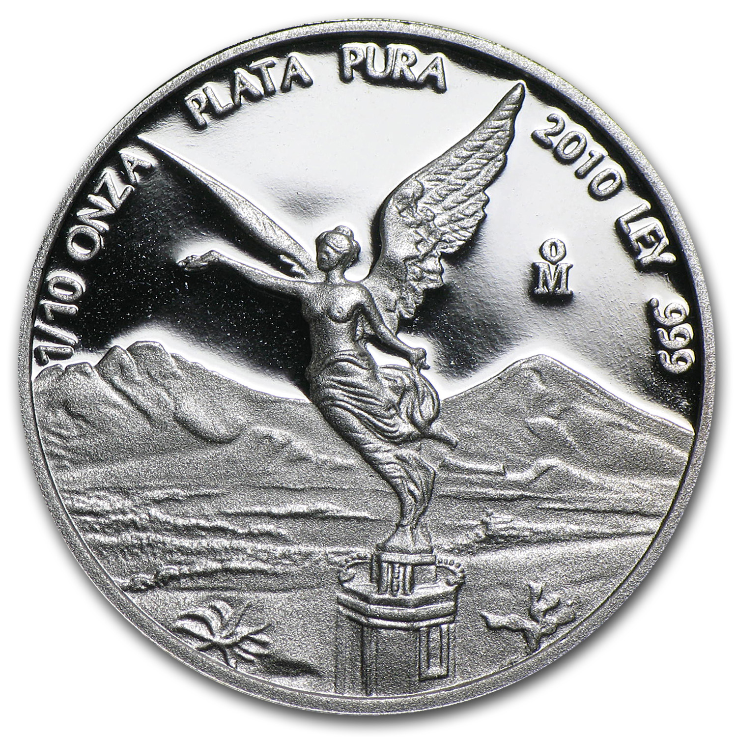 2010 Mexico 1/10 oz Silver Libertad Proof (In Capsule)