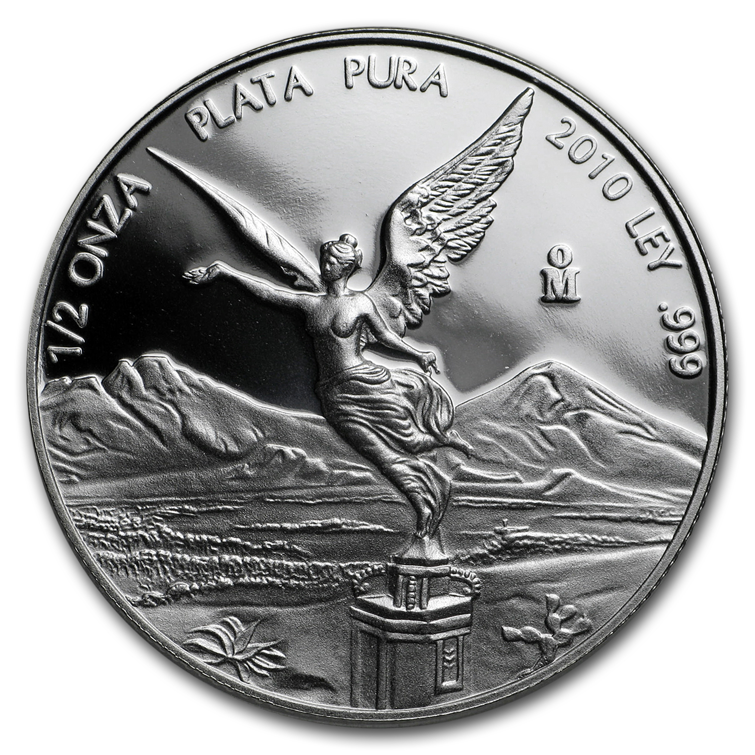 2010 Mexico 1/2 oz Silver Libertad Proof (In Capsule)
