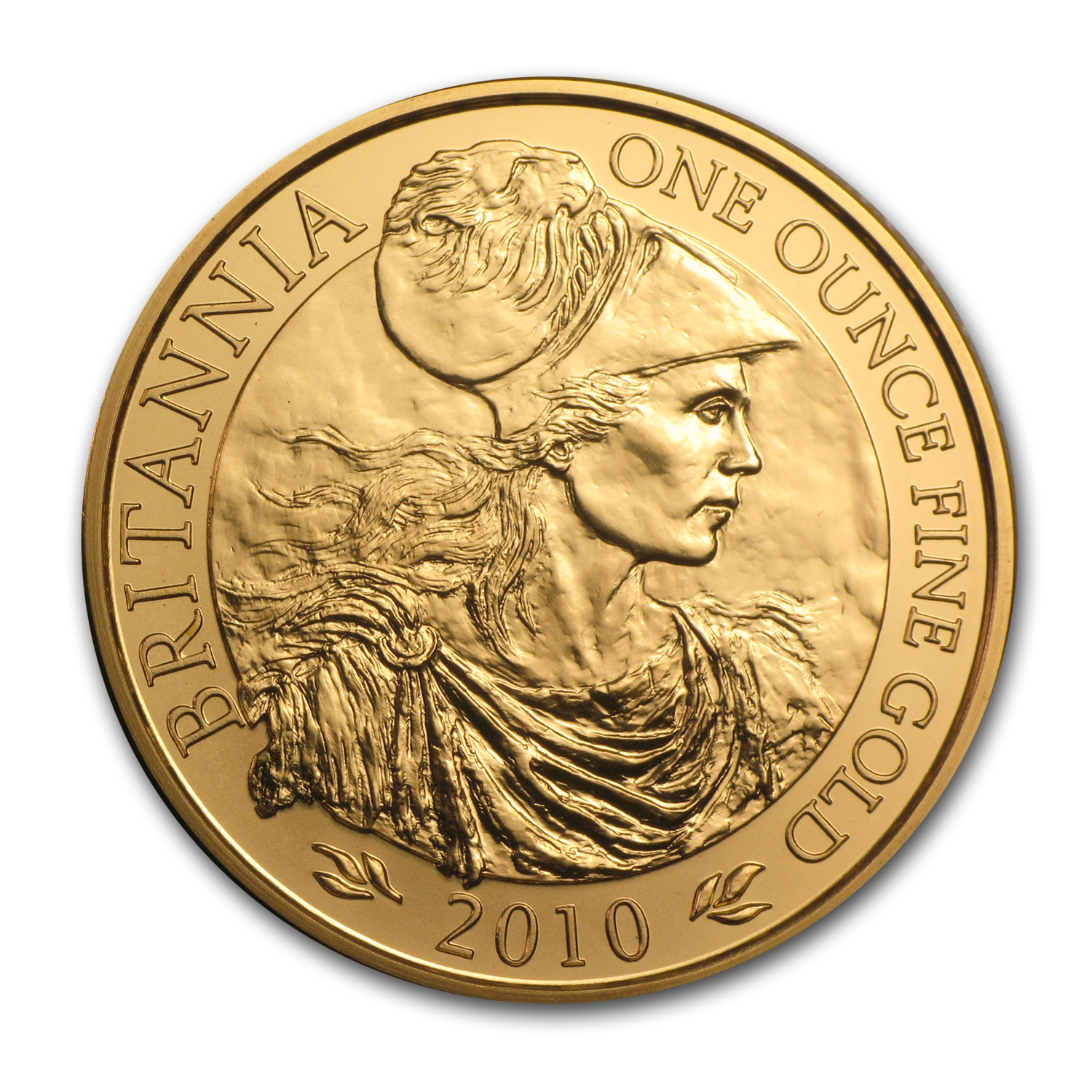 2010 Great Britain Gold 1 oz Britannia BU