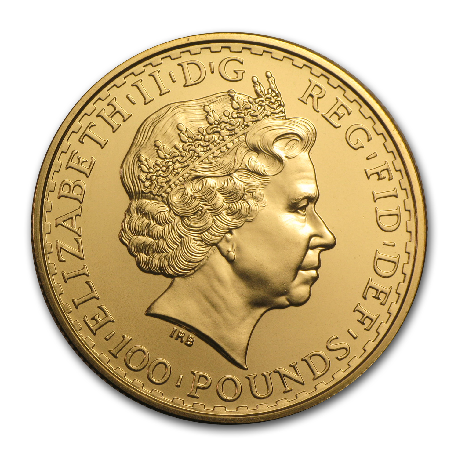 2010 Great Britain 1 oz Gold Britannia BU