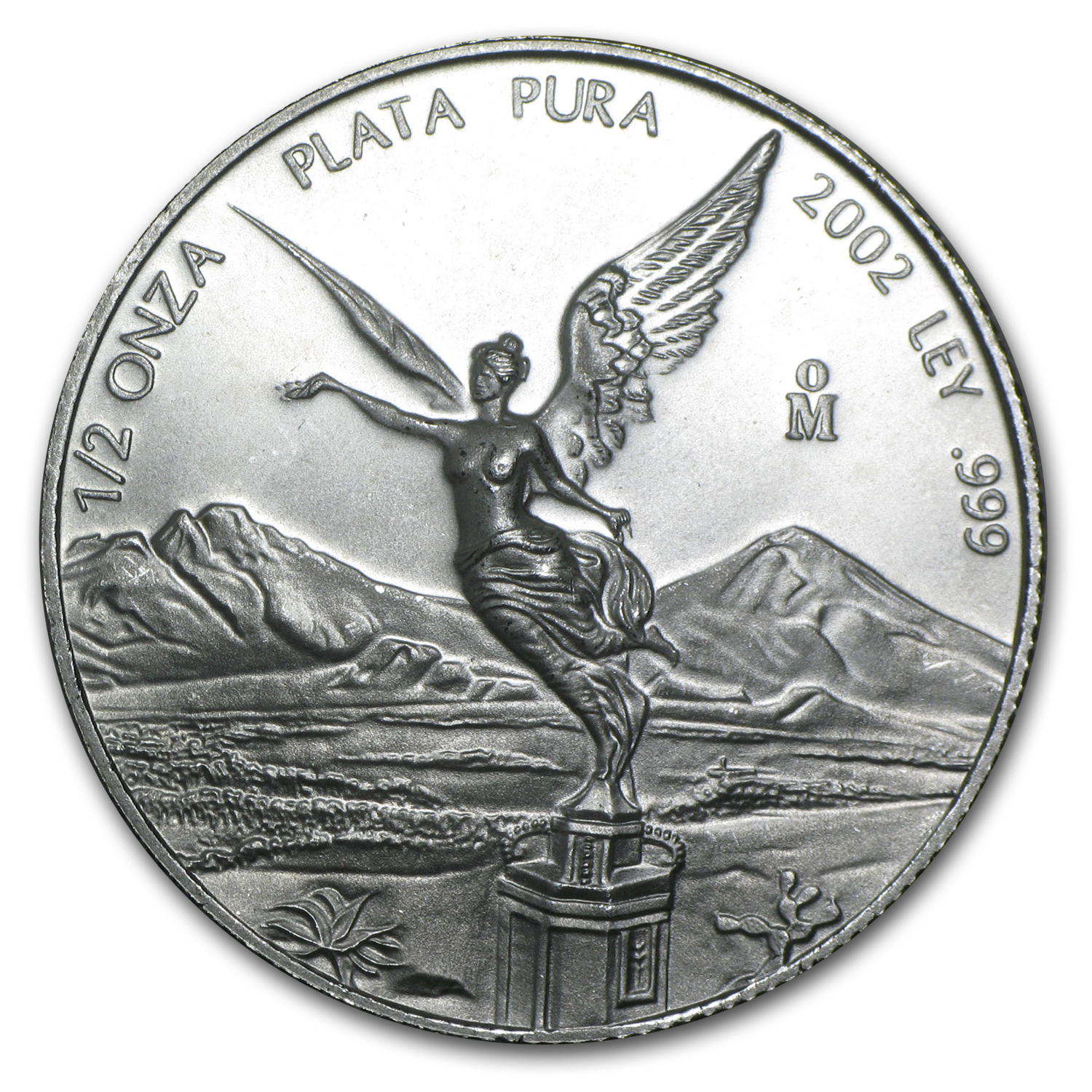 2002 1/2 oz Silver Mexican Libertad (Brilliant Uncirculated)