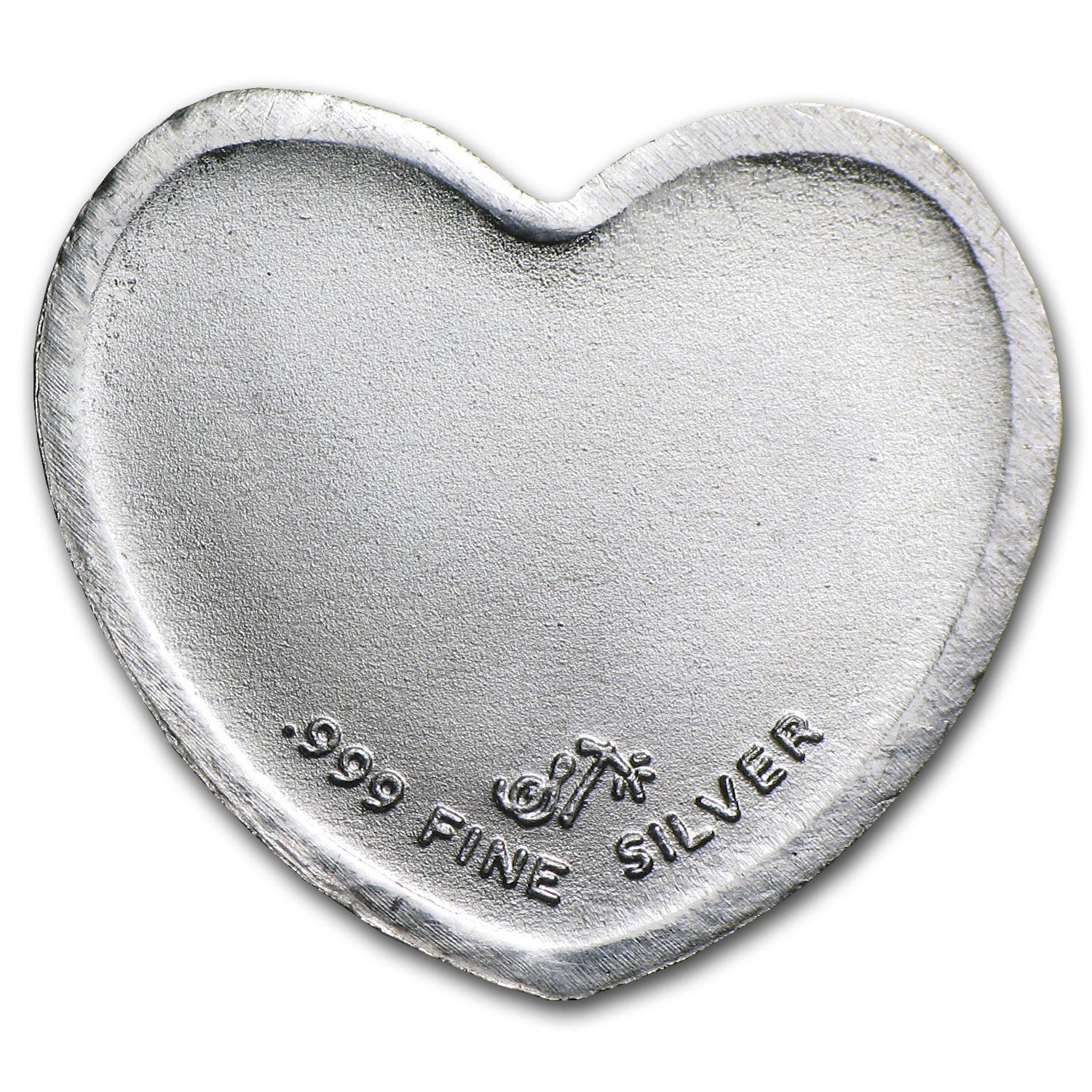 1/10 oz Silver Heart - Butterfly