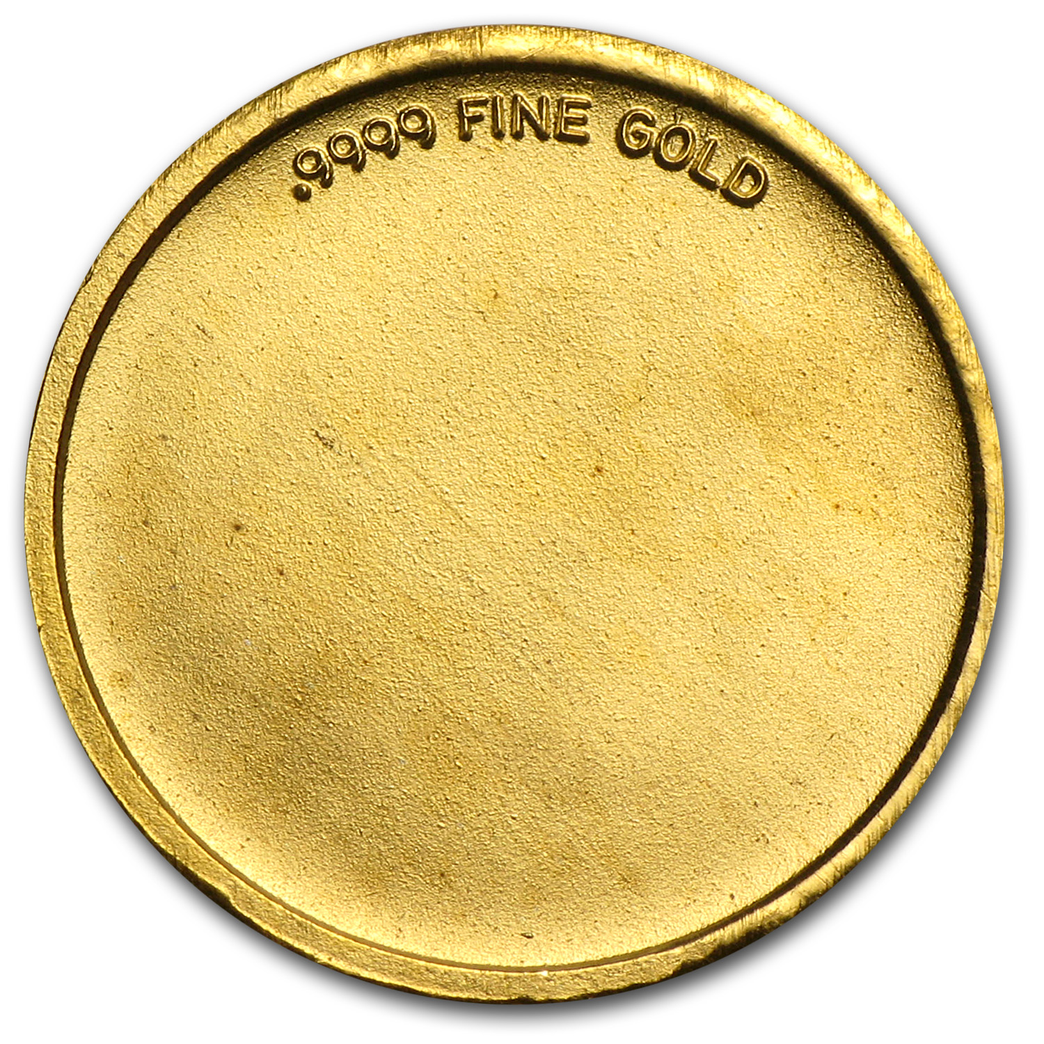 1/10 oz Gold Rounds - Cherub (Angel)