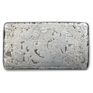 10 oz Silver Bar - Engelhard (Wide/Poured/1st Generation)