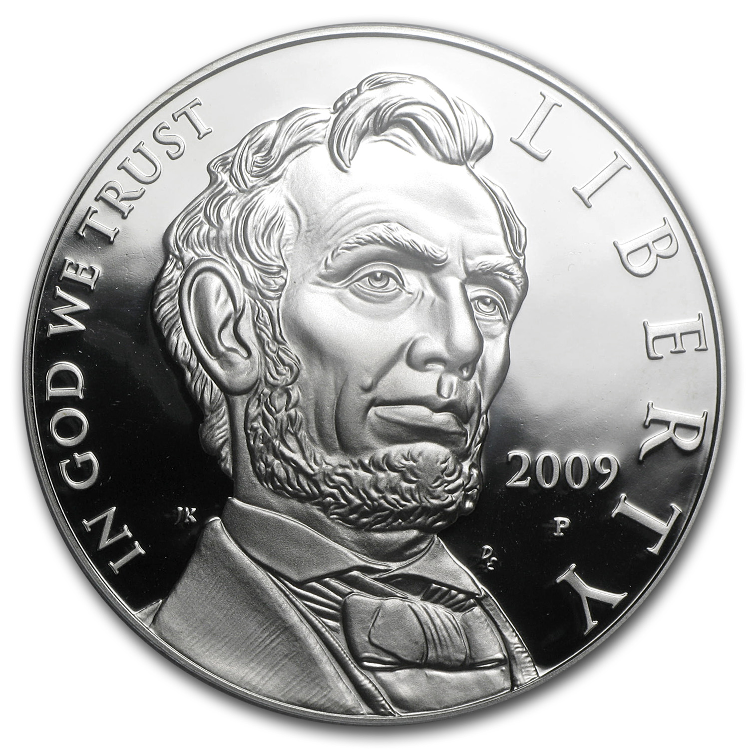 2009-P Abraham Lincoln $1 Silver Commemorative PR-70 PCGS