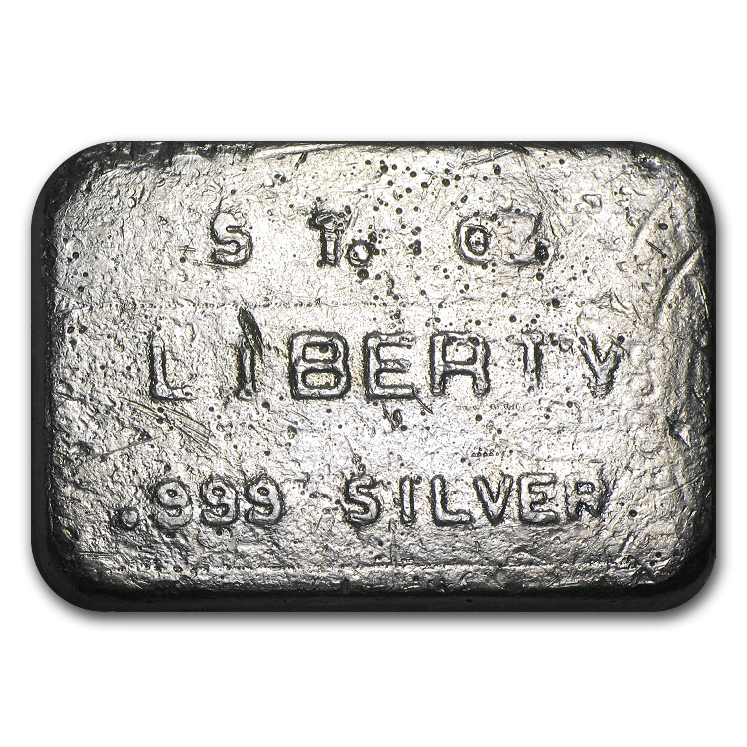 5 oz Silver Bar - Liberty