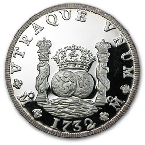 Mexico Silver 5 Onzas Pillar (Proof)