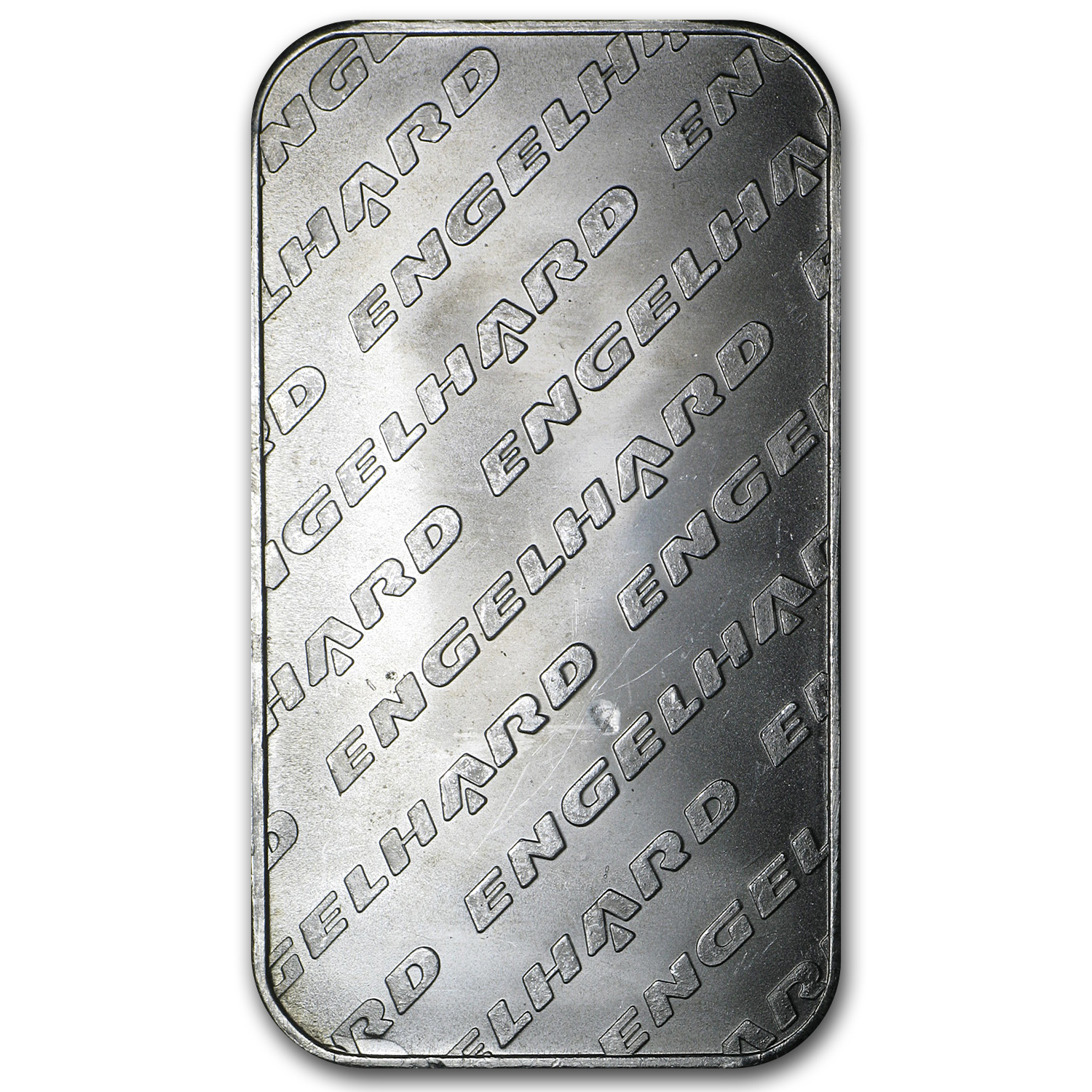 1 oz Silver Bar - Engelhard (Tall-Eagle Design)