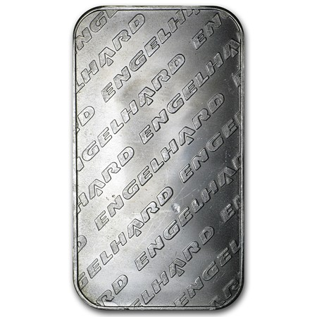 1 Oz Silver Bar Engelhard Tall Eagle Design 1 Oz Silver
