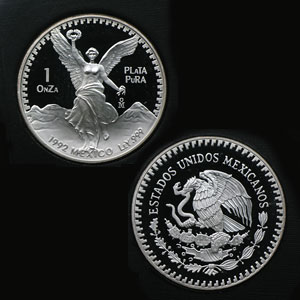 1992 Mexico 5-Coin Silver Libertad Proof Set (Original Case/COA)