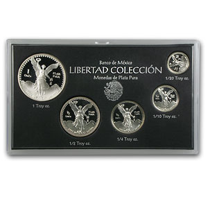 1992 1.9 oz Silver Libertad Set - Proof (Original Case / COA)