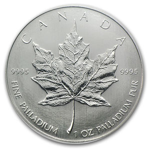 2005 Canada 1 oz Palladium Maple Leaf MS-68 NGC